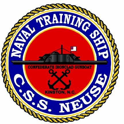 A patch representing the C.S.S. Neuse Ironclad.